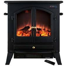 Electric Space Heater Fireplace by Electric Stove Heaters Freestanding Stoves The Home Depot