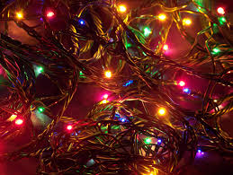 Pictures Of Christmas Lights by White Christmas Lights Background Wallpaper