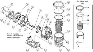 american products ultra flow pump replacement part schematic