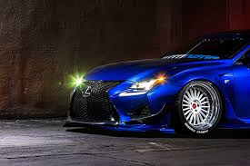 lexus rc rocket bunny kit lexus rc f wide body looks stunning in blue u2013 clublexus