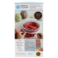 martha stewart crafts knit u0026 weave loom kit