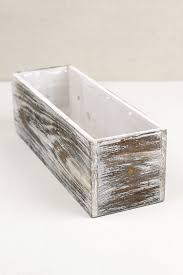 Metal Planter Box by Washed 4x12 Planter Boxes Wood