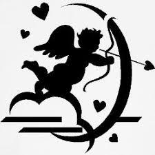 cupid silhouette tattoo design tattoo ideas