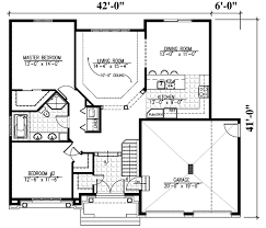 elegant one level home 90142pd architectural designs house plans