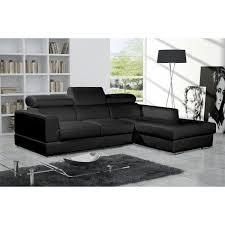 canape d angle noir canape d angle design neto noir avec enchanteur thèmes chaise longue