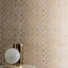 bronze beige taupe wallpaper by casamance decor rooms