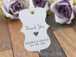 wedding favor tags personalized white wedding favor tags thank you tags gift tags