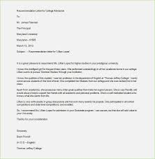 Recommendation Letter Format Exle recommendation letter format for students thepizzashop co