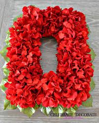 an easy diy red flower christmas wreath celebrate u0026 decorate