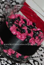 Pink And Black Candy Buffet by 115 Best Pink And Black Party Images On Pinterest Black Party