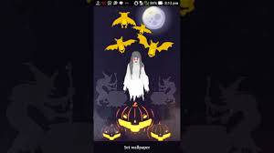halloween ghost live wallpaper for android youtube