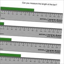 free math worksheets for inches measurement problems answer keys