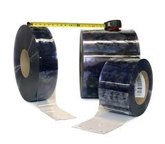 Strip Curtain Roll Vinyl Roll 12 In Standard Smooth 12 In Standard Smooth