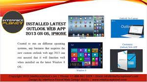 outlook 2013 design custom owa 2013 custom microsoft outlook web app dailymotion