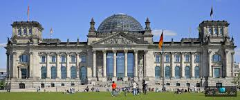 the reichstag dome u2013 a sculpture of light above government in