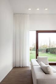 How To Hang Sheers And Curtains Best 25 White Sheer Curtains Ideas On Pinterest Window Curtains