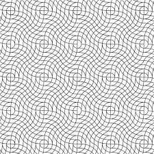wavy weave pattern coloring free printable coloring pages