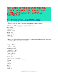 test bank for organic chemistry 7th edition by bruice by andielana