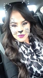 Leopard Halloween Costume 25 Leopard Halloween Makeup Ideas