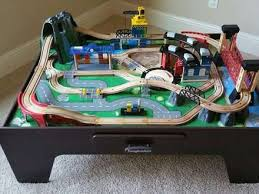 mountain rock train table 58 imaginarium train table set up black friday train table deals