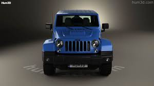 jeep polar edition 360 view of jeep wrangler unlimited polar edition 2014 3d model