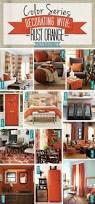 orange home decor home improvement design and decoration