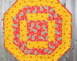 octagon pattern etsy