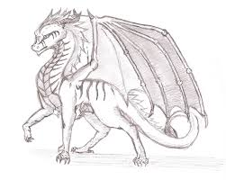 images of dragon sketch by dragonmaster137 sc