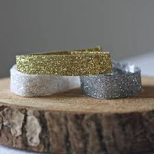 gold glitter ribbon glitter ribbon gold silver white by the wedding of my dreams