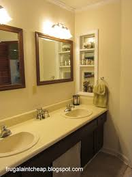 redoing bathroom ideas frugal aint cheap bathroom remodel from to idolza