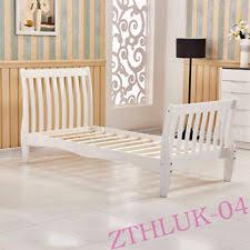 White Single Sleigh Bed White Sleigh Bed Frames Ebay