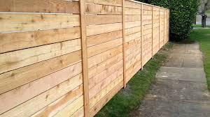 horizontal cedar fence also remarkable designs images