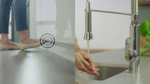 grohe footcontrol kitchen faucets k7 foot control 30314000