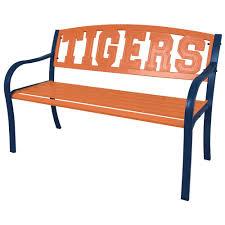 spirit halloween auburn ca leigh country auburn tigers metal patio bench tx 93568 the home