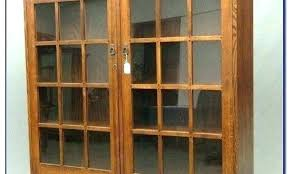 tall bookcase with glass doors bookcase with glass doors and drawers tall white book cabinet with