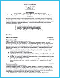 Internal Auditor Resume Sample by Senior It Auditor Resume Resume For Your Job Application