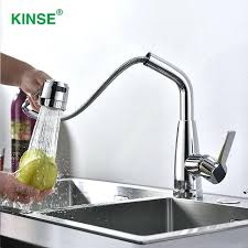 best quality kitchen faucets high quality kitchen faucet modern shining chrome pull out faucet