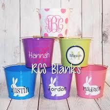 wholesale easter buckets enamel coated metal easter 5 quart rcs blanks llc