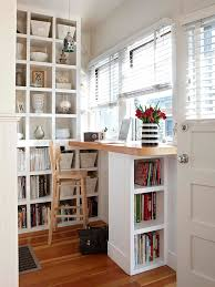 Office In Small Space Ideas Small Space Home Offices Small Spaces Spaces And Desks