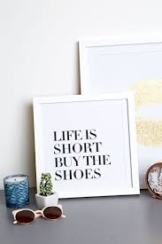 forever 21 life is short wall decor cheap home decor online