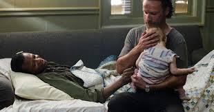 Carl Walking Dead Halloween Costume Walking Dead Preparing Baby Death Rick