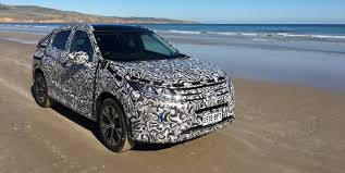 2018 mitsubishi eclipse cross undergoing local tuning photos 1