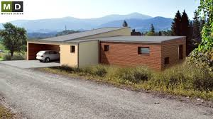low energy l shaped storey bungalow with garage fr dlant low energy l shaped storey bungalow with garage fr dlant vizualizace 3