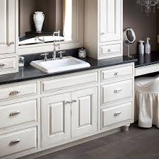 Best Masterful Bathrooms Images On Pinterest Pulte Homes - White cabinets master bathroom