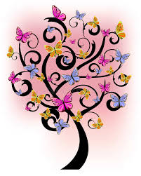 butterfly tree stock illustration illustration of decoration 22705676