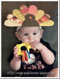 diy turkey headband crafts thanksgiving