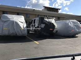 2018 jeep wrangler spy shots 2018 jeep wrangler shows its familiar shape in reader spy photos
