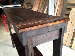 reclaimed wood entry table entry table plans large size of coffee com entry table hallway nook