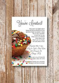 sprinkles baby sprinkle shower invitation printable file