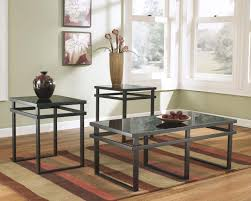 ashley furniture glass top coffee table coffee table coffee and end table sets ashley furniture glass